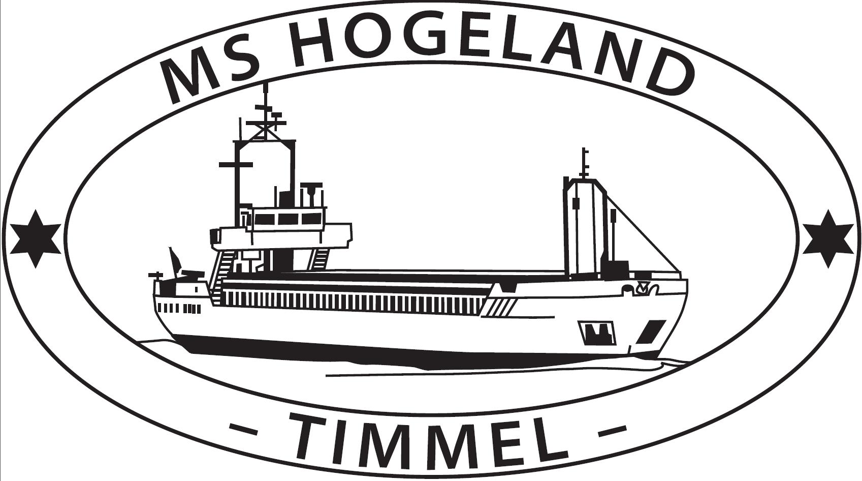 MS-Hogeland / Schiffsstempel